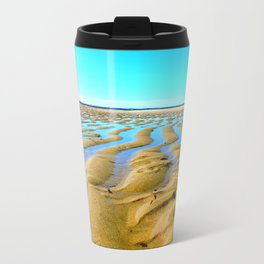 Waves of the Past Travel Mug