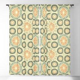 Arabesque: geometric Islamic pattern Blackout Curtain