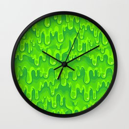 Slimed Wall Clock