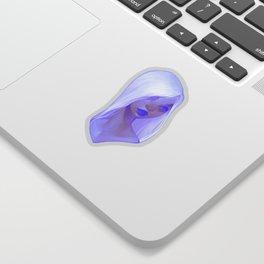 visage - lilac Sticker