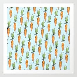 Darling carrot Art Print