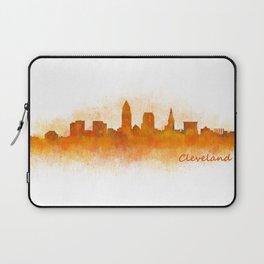 Cleveland City Skyline Hq V3 Laptop Sleeve