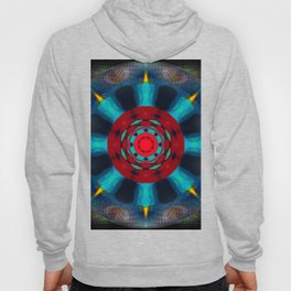 Crystal Ball Vision Abstract Hoody