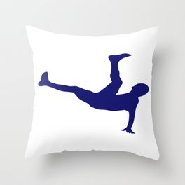 Soccer I Do My Own Stunts Soccer Player Throw Pillow