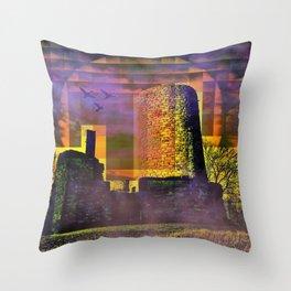 Castle-Art Throw Pillow