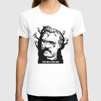 nietzsche T-shirts featuring NICHE-TZSCHE by science fried art