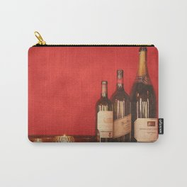 Wine on the Wall Carry-All Pouch
