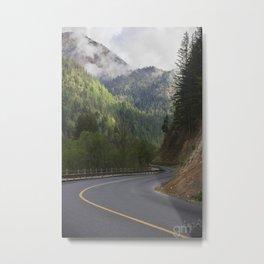The Road to Heaven Metal Print