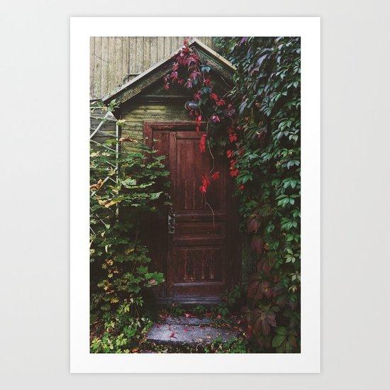 Secret Door Art Print