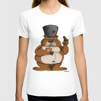 russian T-shirts featuring Russian Bear by Michelena
