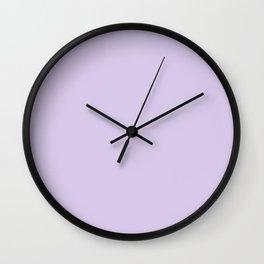 Light purple Wall Clock