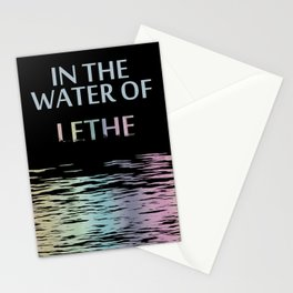 In the water of Lethe Stationery Cards