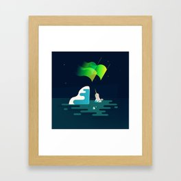 The North Framed Art Print