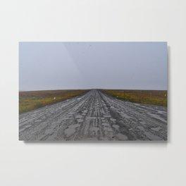 Muddy Dalton Highway Metal Print