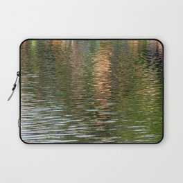 Reflection in a pond Laptop Sleeve