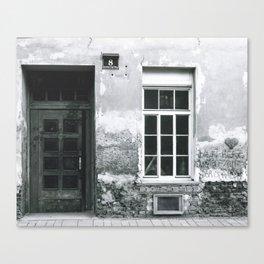 Der Strasse Canvas Print