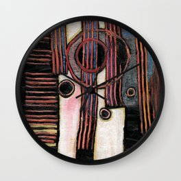 Gutter Sewer Surprise 3 Wall Clock