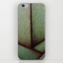 Beautiful Unique maple green wood veneer design iPhone Skin