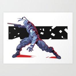Solid Snake Art Print