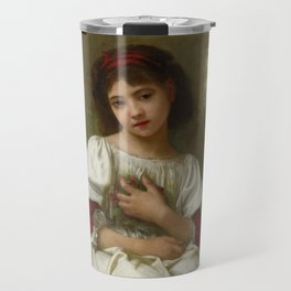 "Elizabeth Jane Gardner Bouguereau ""In the Garden"" Travel Mug"