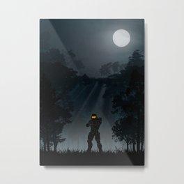 Halo | Warriors Landscapes Serries Metal Print