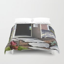Wisconsin Summer Shed Duvet Cover