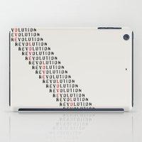 revolution iPad Cases featuring Revolution by Skye Zambrana