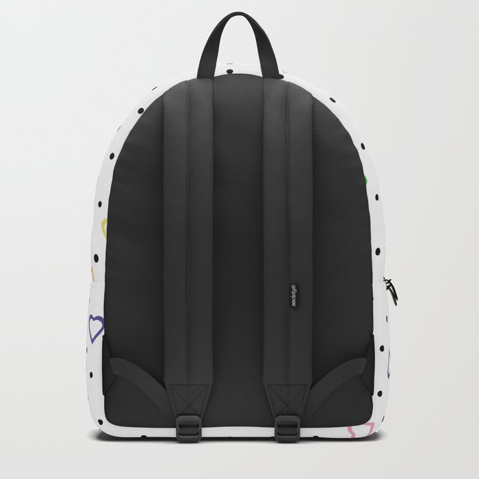 Candy Heart Spots Backpack