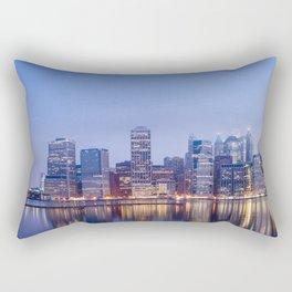 NYC Before Dawn Rectangular Pillow