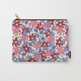 Liberty print in pinks, reds and blues Carry-All Pouch