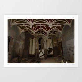 Goutte // Dripping - Château Miranda Art Print