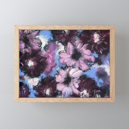 Whatever Floats Your Flowers Framed Mini Art Print