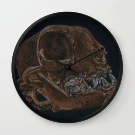 Lousy Mouser Wall Clock