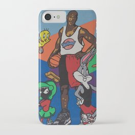 Space Jam Shoes iPhone Case