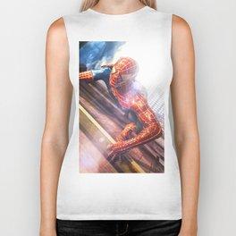 Spider Man in Action Biker Tank