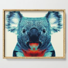 Koala - Colorful Animals Serving Tray