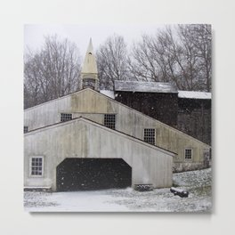 Hopewell Furnace Metal Print