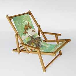 EVENING PSYCHEDELIA Sling Chair