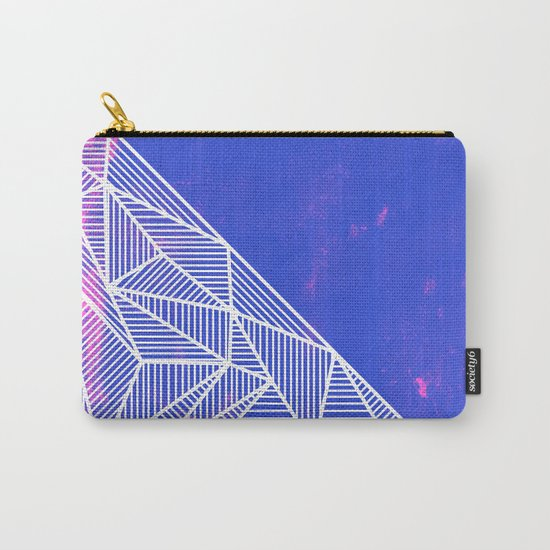 B Rays Geo Punk Carry-All Pouch