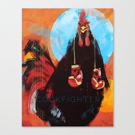 Cock Fighter Canvas Print