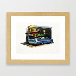 Fury-ous Framed Art Print