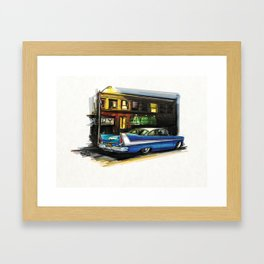 Fury-ous Framed Art Print