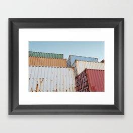 Curaçao - Container II Framed Art Print