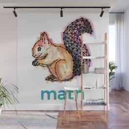 Squirrelmath Wall Mural