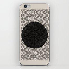 Woodblock Paper Art iPhone Skin