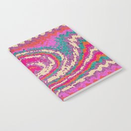 Radiant Orchid Chevron Mosaic Notebook