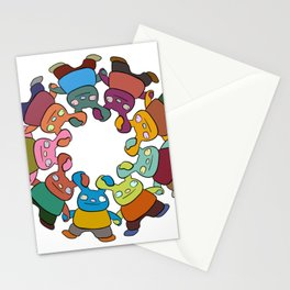 Same but different Stationery Cards