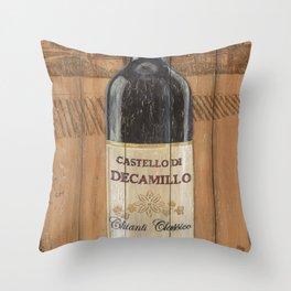 Tuscan Chianti 1 Throw Pillow