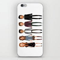 cargline iPhone & iPod Skins featuring The gang by cargline