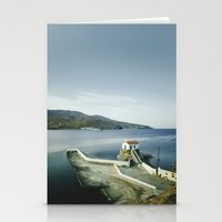 greek Stationery Cards featuring Greek landscape by MarioGuti